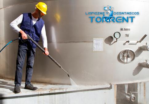 Limpiezas equipos agua presión Torrent