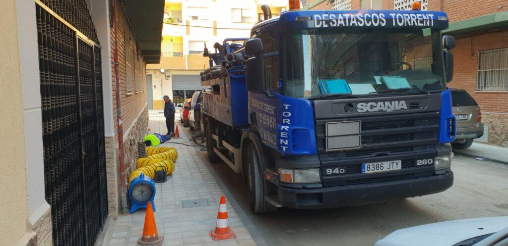 desatascos camión cuba Manises